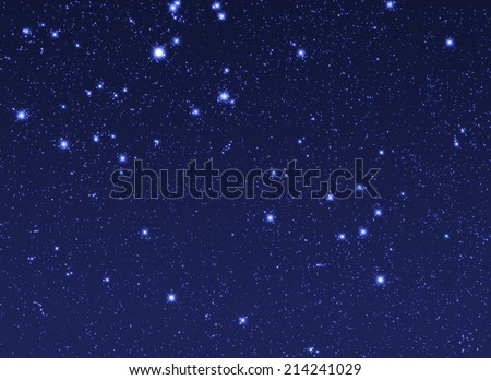 Stars in space.  - stock photo