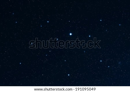Stars. Starry sky and deep spase. Original shot at slow shutter speeds.  - stock photo