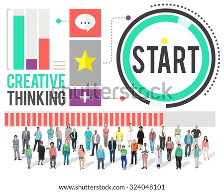 Start Beginning Forward Direction Motivation Concept