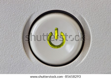 Start button - stock photo