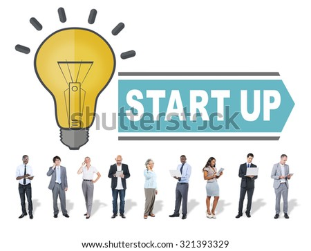 Start Up Business Growth launch Success Concept