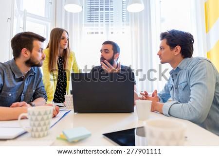 Start-up Team - stock photo