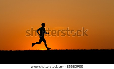 starting blocks in track and field - stock photo