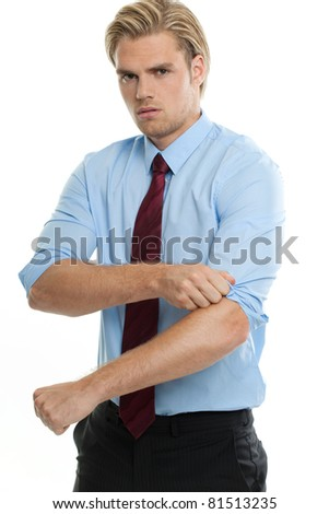 starting work - stock photo