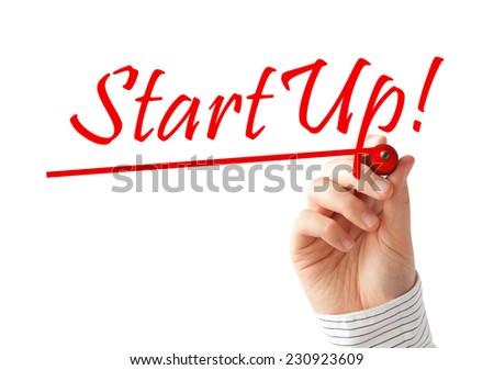 Startup - stock photo