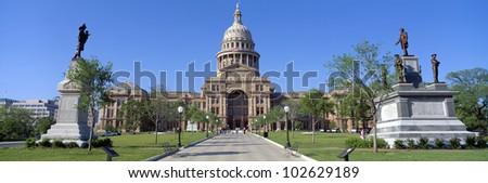 State Capitol, Austin, Texas - stock photo