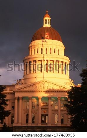 State Capitol of California, Sacramento - stock photo