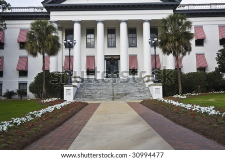State Capitol of Florida in Tallahassee - stock photo