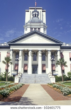 State Capitol of Florida, Tallahassee - stock photo