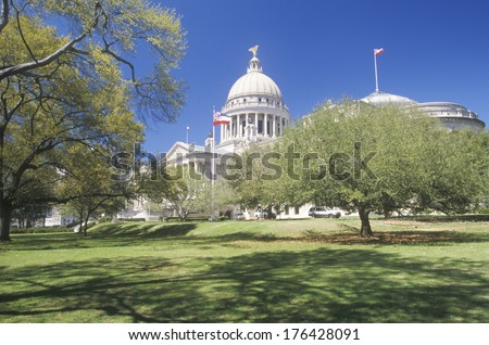 State Capitol of Mississippi, Jackson - stock photo