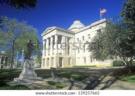 State Capitol of North Carolina, Raleigh - stock photo