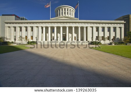 State Capitol of Ohio in Columbus, OH
