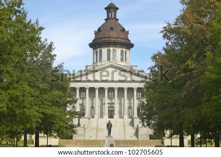 State Capitol of South Carolina, Columbia - stock photo