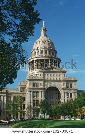 State Capitol of Texas, Austin - stock photo
