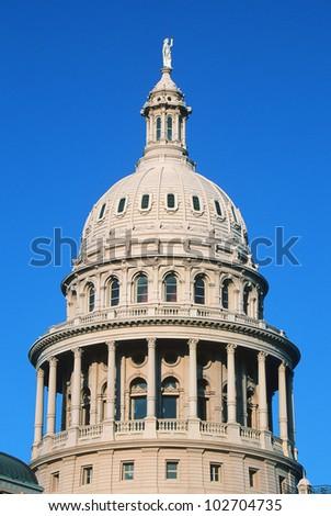 State Capitol of Texas, Austin - stock photo