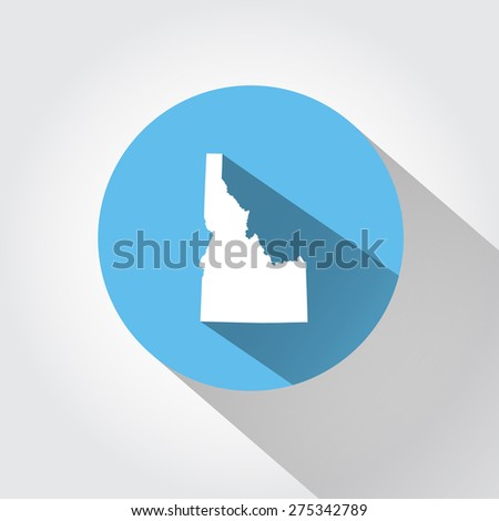 State Idaho - stock photo