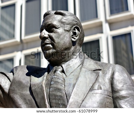 Statue of former Philadelphia Mayor Frank Rizzo