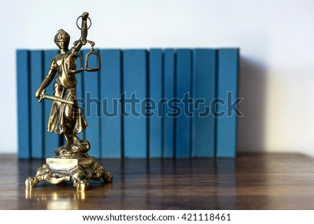 Statue of justice, Law concept, Temida - Themis   - stock photo
