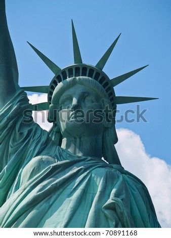 Statue of Liberty in New York City, USA