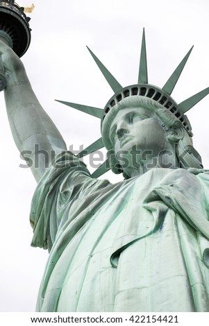 Statue of Liberty, Liberty Statue in New York, USA - stock photo