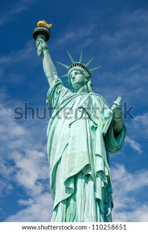 Statue of Liberty. New York - stock photo