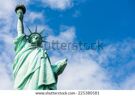 Statue of Liberty, New York - stock photo