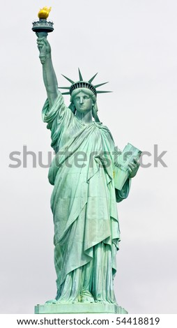 Statue of Liberty, New York City - stock photo