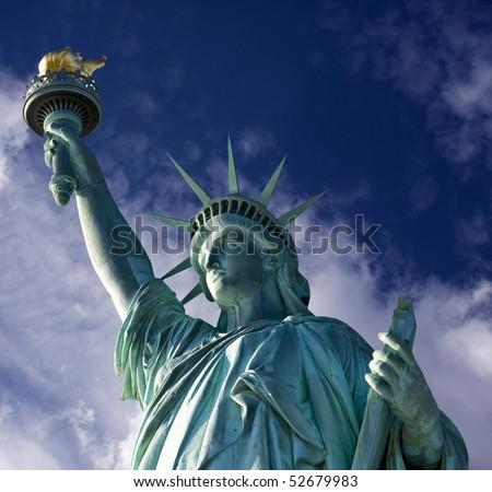 Statue of Liberty, New York, USA - stock photo