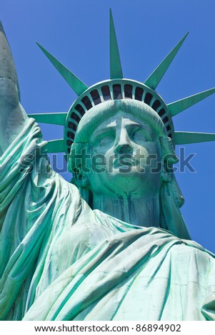 Statue Of Liberty one of the most popular Landmark of New York City and USA
