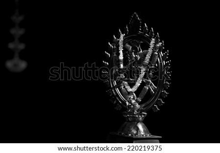 Statue of Nataraja or dancing Shiva - stock photo