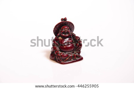 Statuette of  Buddha - stock photo