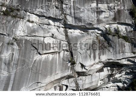 Stawamus Chief peak in Squamish, stone, Granite massif, British Columbia, canada - stock photo