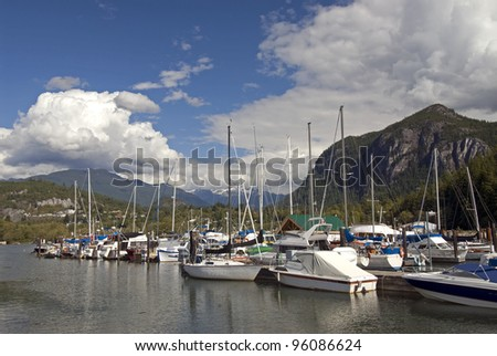 Stawamus Chief (The Chief), and Squamish Marina