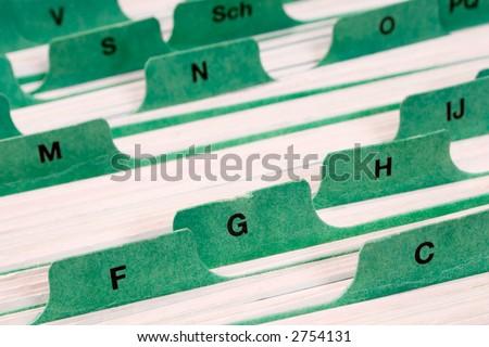 Staying Organized - stock photo