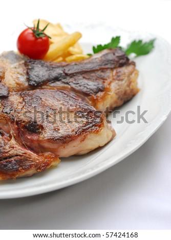steak - stock photo