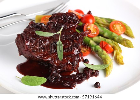 Stock options beef demi glace