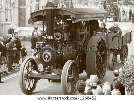 Steam Engine (1) - stock photo