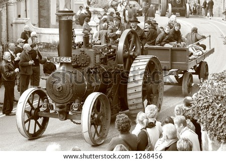 Steam Engine (2) - stock photo