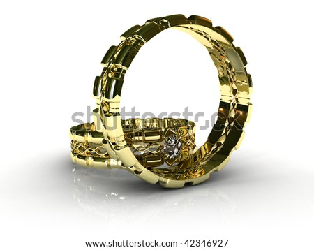 steam gold wedding rings (part 13)