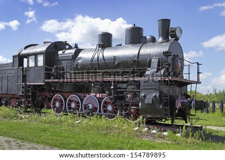 Steam locomotive built in Germany of the Russian project in 1921-1923