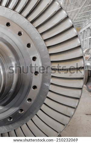 steam turbine of power plant
