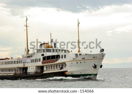 steamboat - stock photo