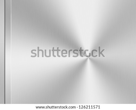 steel design background - stock photo