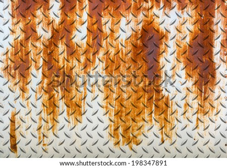 steel diamond plate texture background .metal plate - stock photo