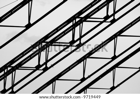 Steel elements of the construction