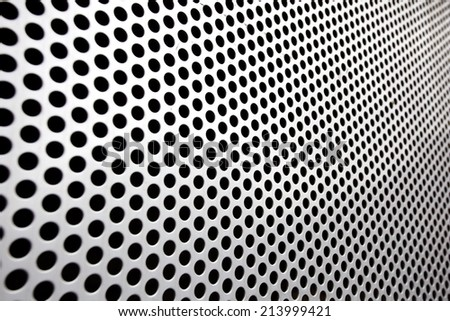 Steel mesh screen as background and texture  - stock photo