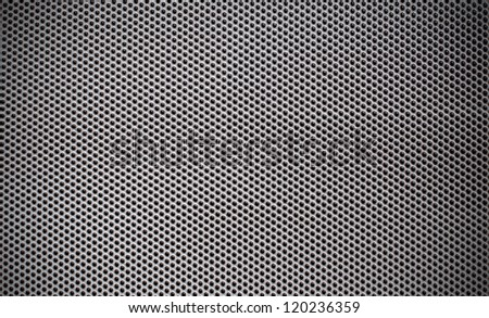 Steel mesh screen background and texture - stock photo