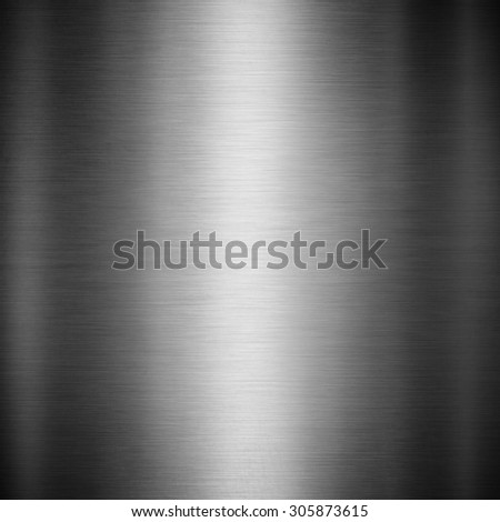 Steel metal background brushed metallic texture with reflections. - stock photo