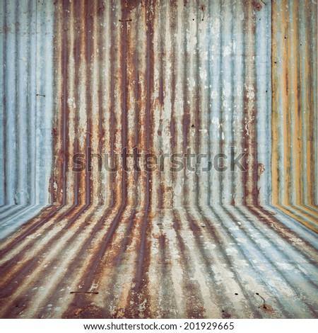 steel metal grunge background - stock photo