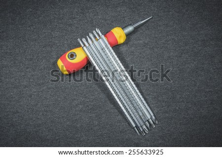 Steel of Screwdriver